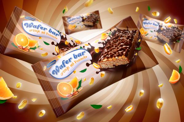 <span>Wafer bar orange and peanuts</span><i>→</i>